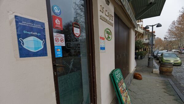 Закрытые кафе, бары, рестораны и магазины - эпидемия коронавируса - Sputnik Грузия