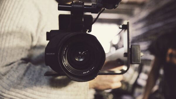 Съемки фильма. Кинокамера - Sputnik Грузия