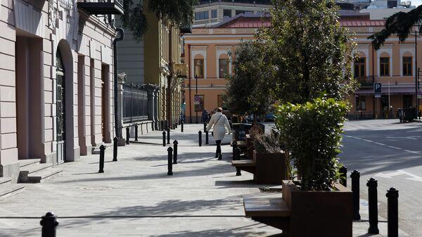 Тбилиси в солнечную погоду зимой - Орбелиани - Sputnik Грузия