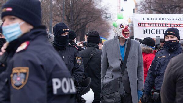 პოლიცია ავსტრიაში - Sputnik საქართველო