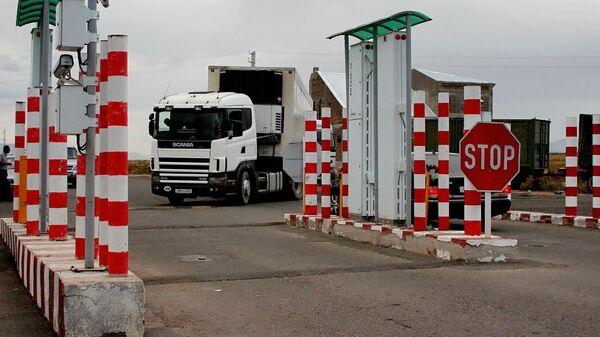 Контрольно-пропускной пункт (КПП) «Бавра» на границе Армении и Грузии. - Sputnik Грузия