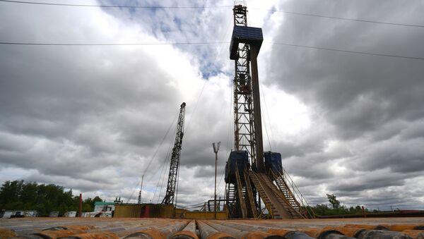 Буровые установки по добыче нефти - Sputnik Грузия