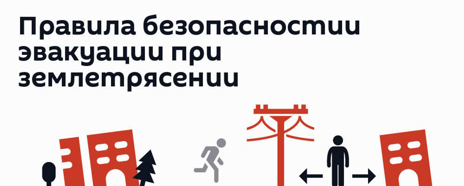 Как себя вести при землетрясении? - Sputnik Грузия, 1920, 16.02.2021