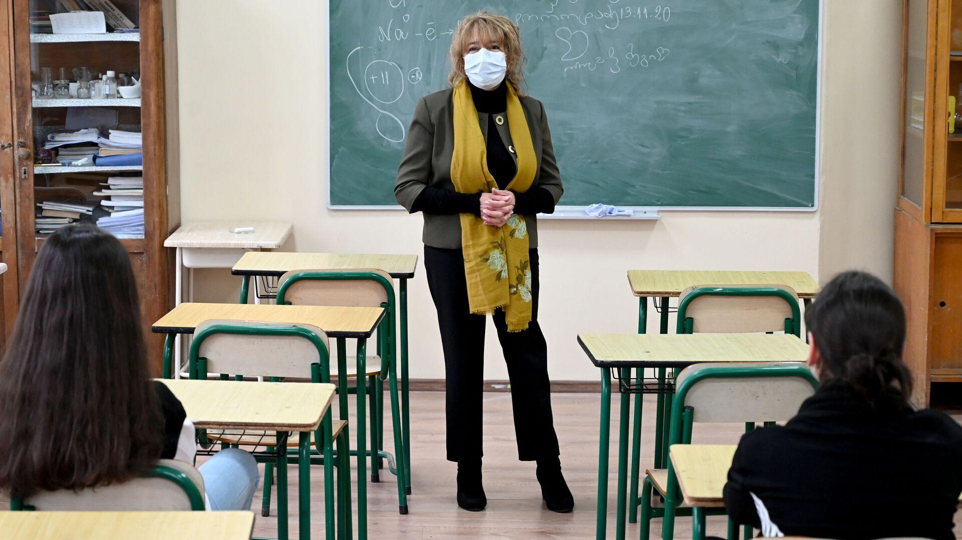 საკლასო ოთახში - Sputnik საქართველო, 1920, 12.10.2021