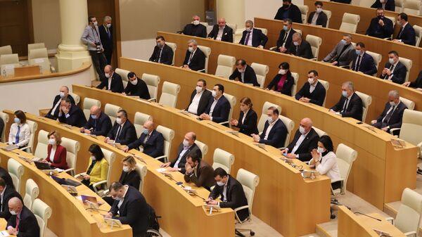 Депутаты парламента Грузии от правящей партии Грузинская мечта - Sputnik Грузия