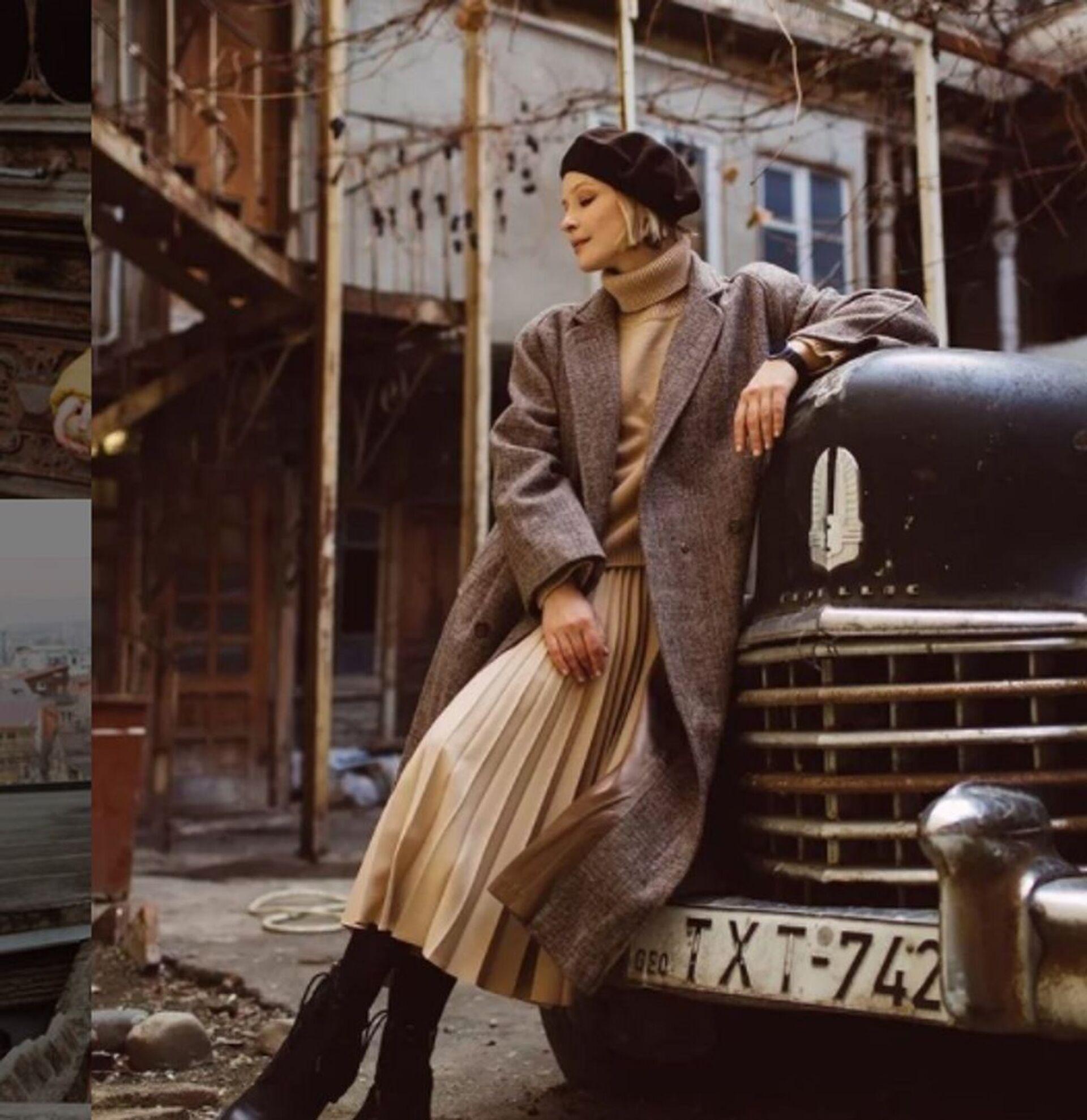 Юлия Пересильд встретила весну в Тбилиси – чего пожелала актриса? - Sputnik Грузия, 1920, 01.03.2021