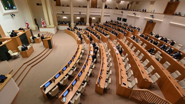 Заседание парламента Грузии - Sputnik Грузия