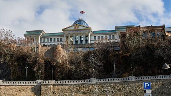 Дворец церемоний (бывший дворец президента) в районе Авлабари - Sputnik Грузия