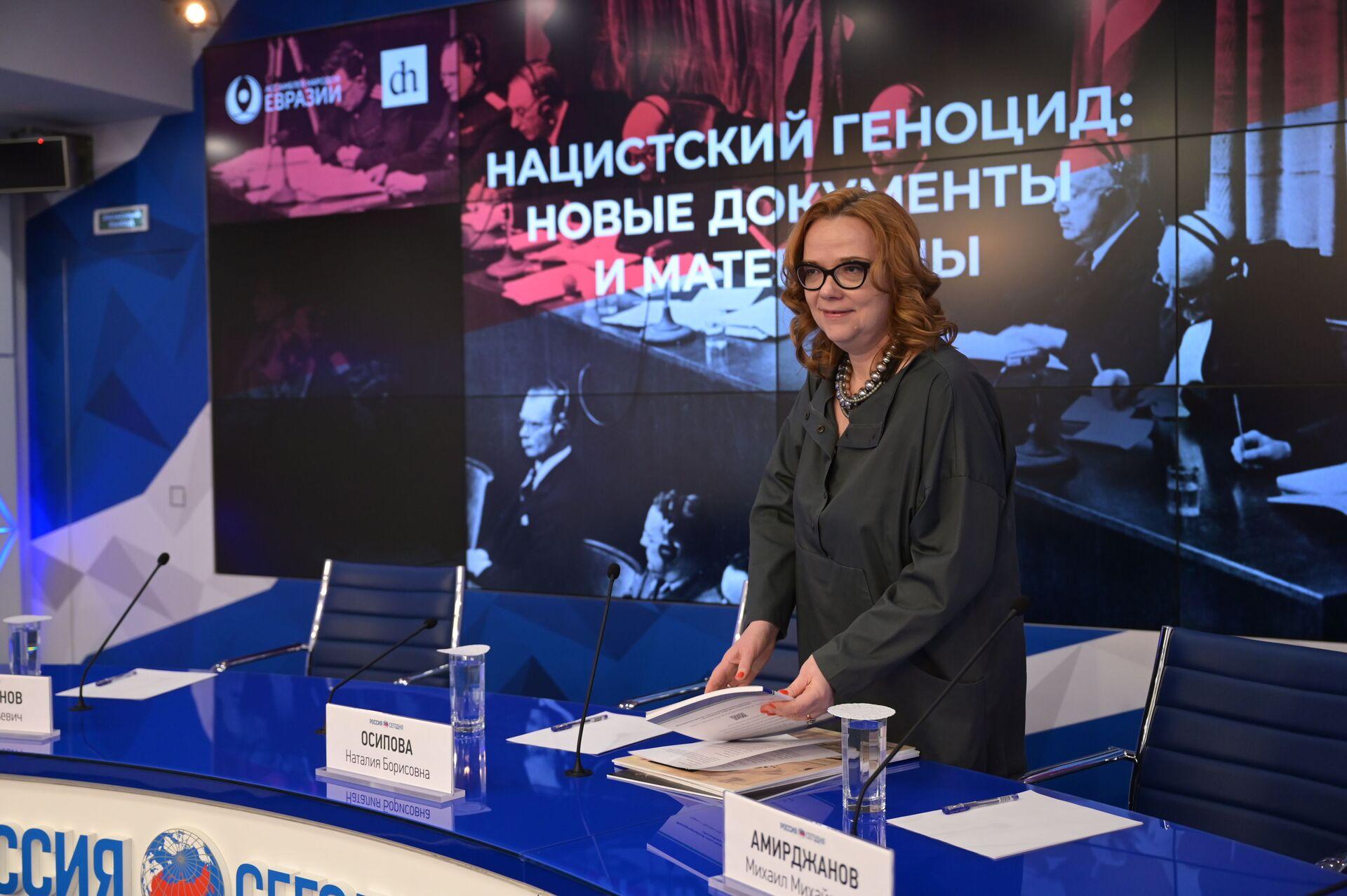 В агентстве Россия сегодня презентовали международный проект Бессмертная память - Sputnik Грузия, 1920, 25.02.2021