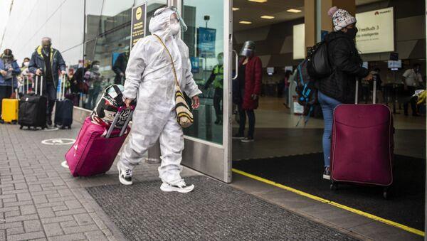 მგზავრები პერუს აეროპორტში - Sputnik საქართველო