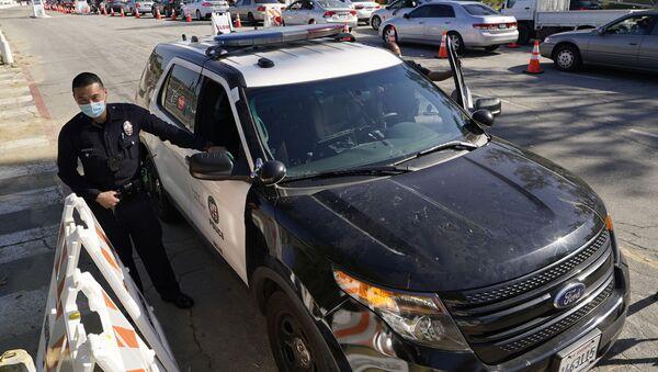 Американская полиция , Лос Анджелес , США - Sputnik Грузия