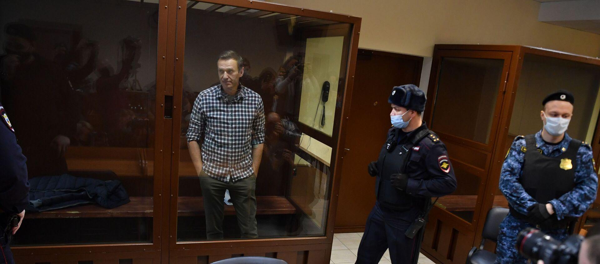 Заседание суда поА.Навальному - Sputnik Грузия, 1920, 04.03.2021