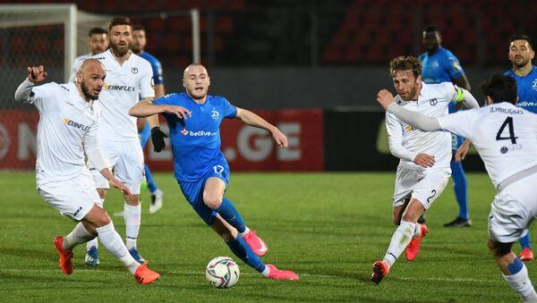 Матч чемпионата Грузии по футболу между Динамо Тбилиси  и Торпедо Кутаиси - Sputnik Грузия