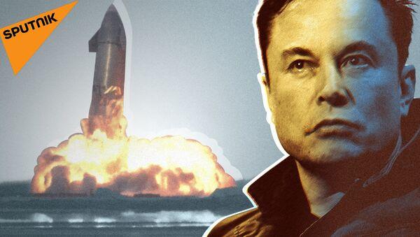 SpaceX Илона Маска: будут ли полеты на Марс? - видео - Sputnik Грузия