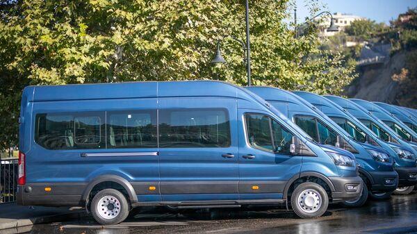 ლურჯი მიკროავტობუსები - Sputnik საქართველო