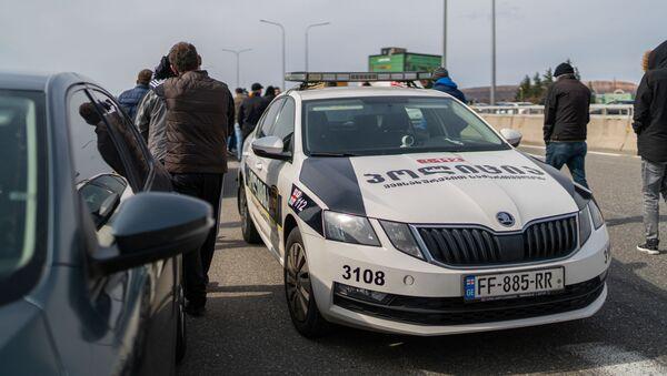 Патрульная полиция на автобане - Sputnik Грузия