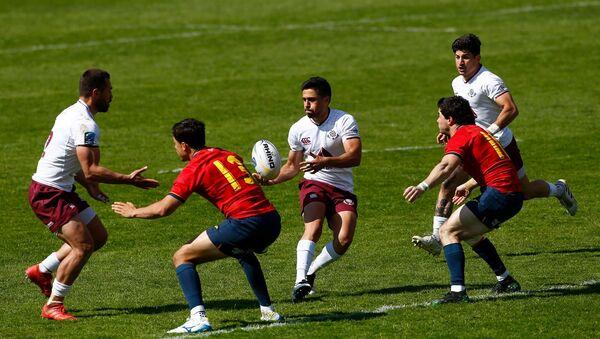 Сборная Грузии по регби, матч с Испанией - Sputnik Грузия
