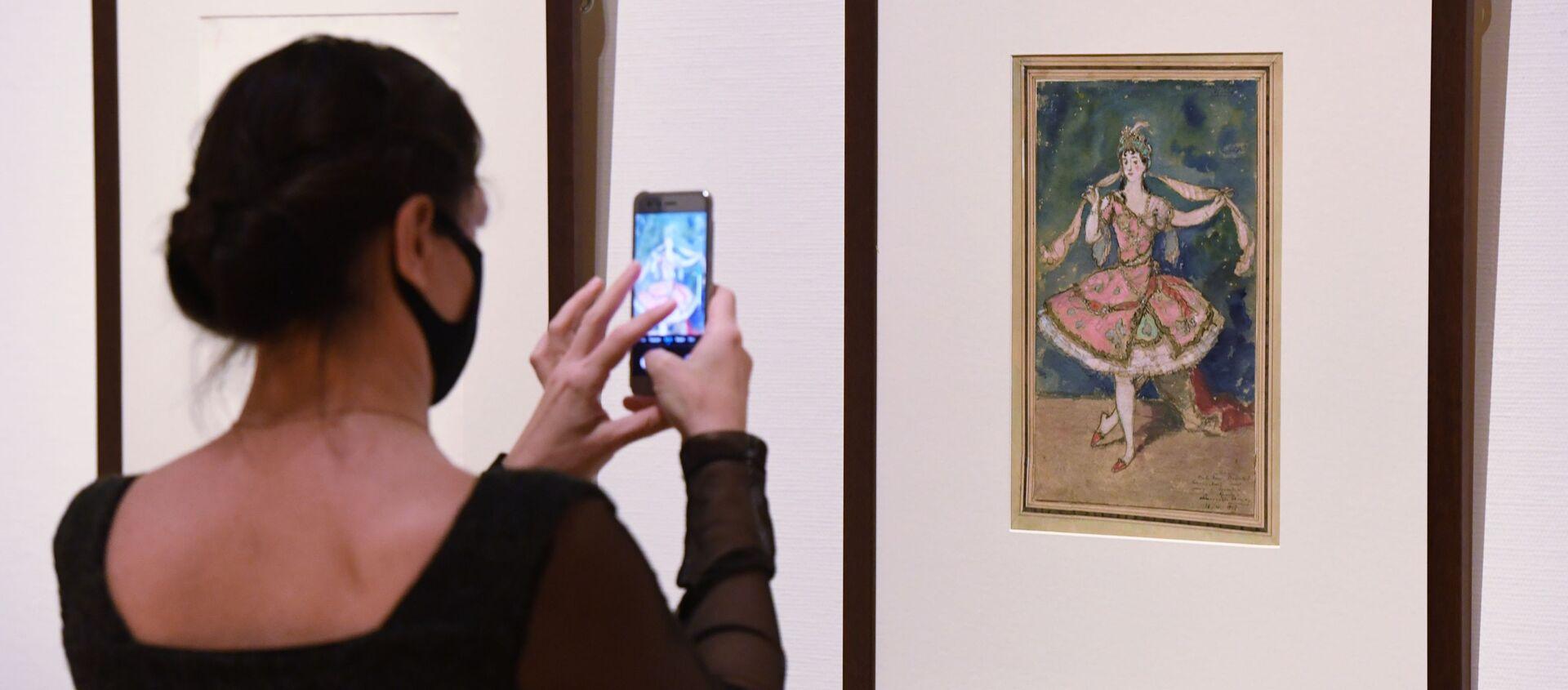"""გამოფენა """"ალექსანდრ ბენუა და მისი """"ხელოვნების სამყარო"""" ტრეტიაკოვსკის გალერეაში - Sputnik საქართველო, 1920, 19.03.2021"""