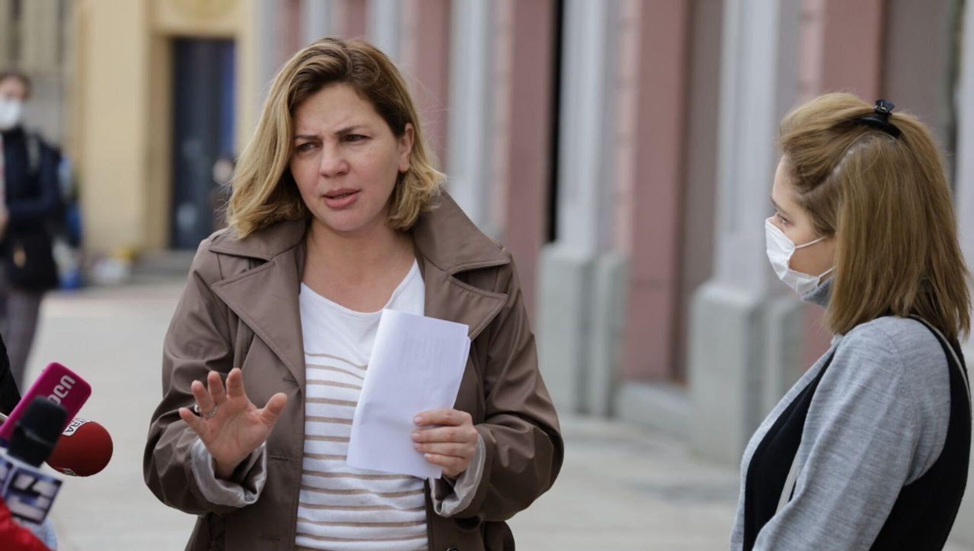 Ана Долидзе подаёт заявление в Сакребуло по ситуации в Вашлиджвари - Sputnik Грузия, 1920, 19.03.2021
