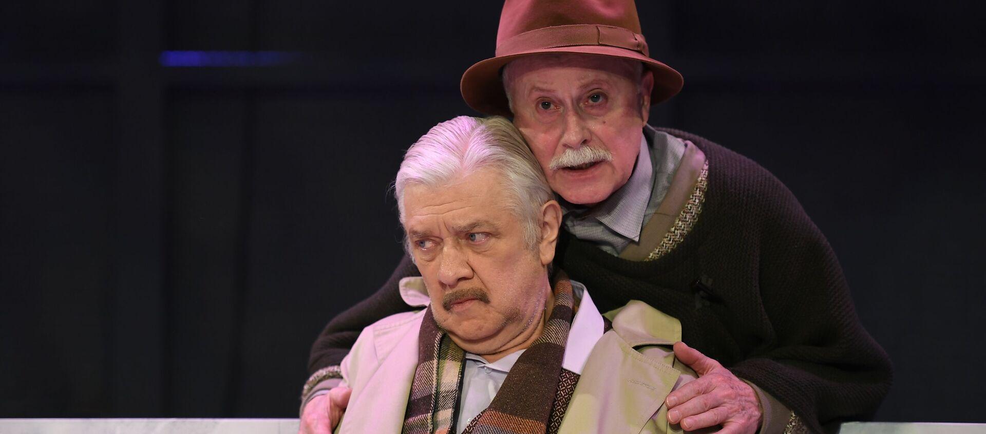 Актеры Александр Дик (слева) и Виталий Стремовский (справа) - Sputnik Грузия, 1920, 19.03.2021