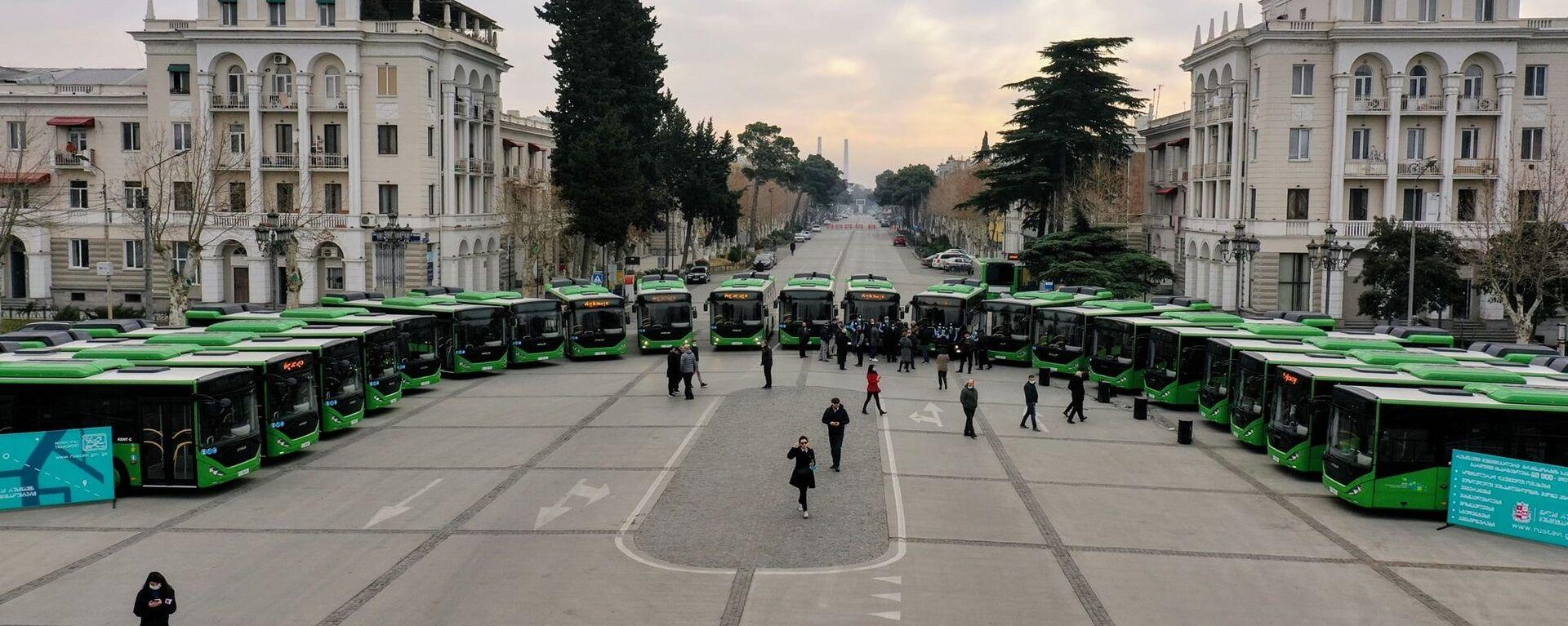 Новые автобусы для шести городов Грузии - Sputnik Грузия, 1920, 23.03.2021
