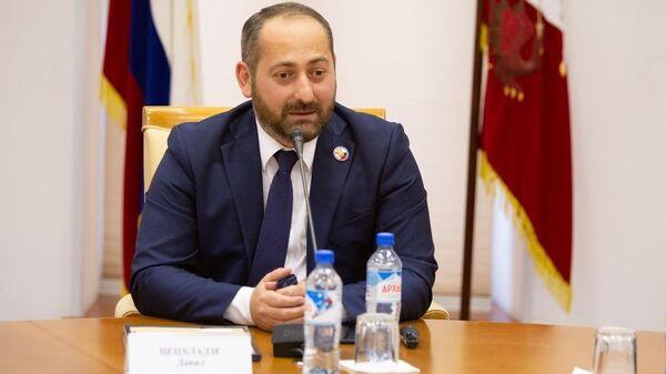 Президент Грузинской ФНКА в России Давид Цецхладзе - Sputnik Грузия