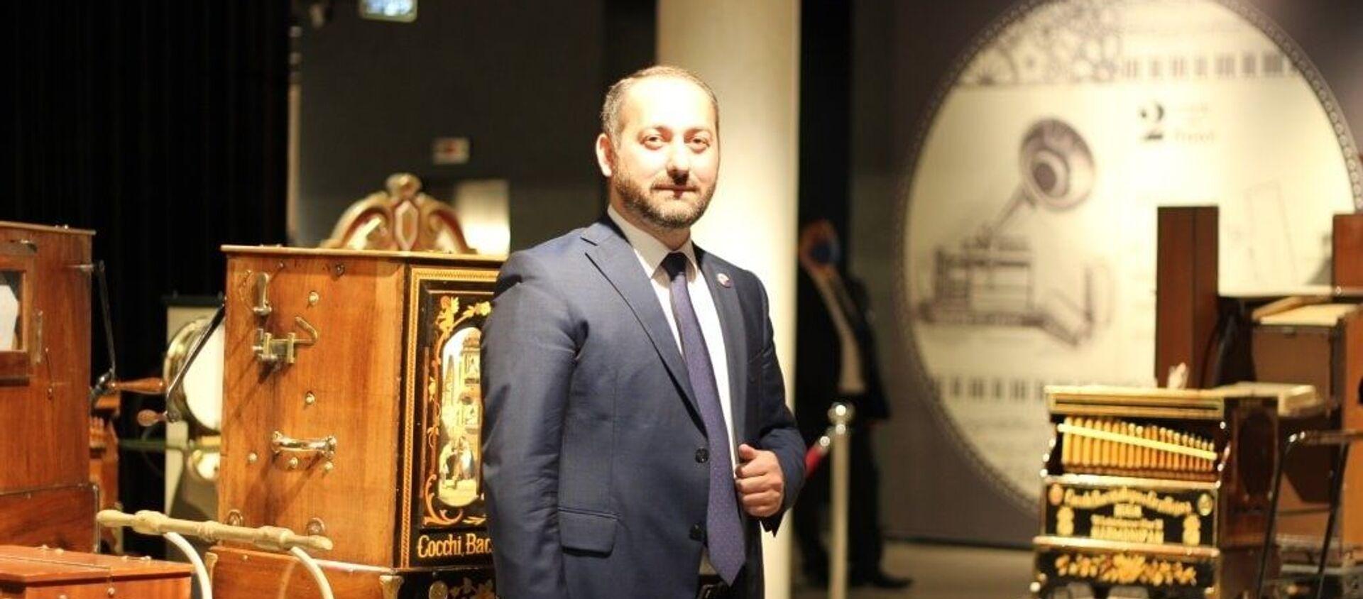 Президент Грузинской ФНКА в России Давид Цецхладзе - Sputnik Грузия, 1920, 24.03.2021