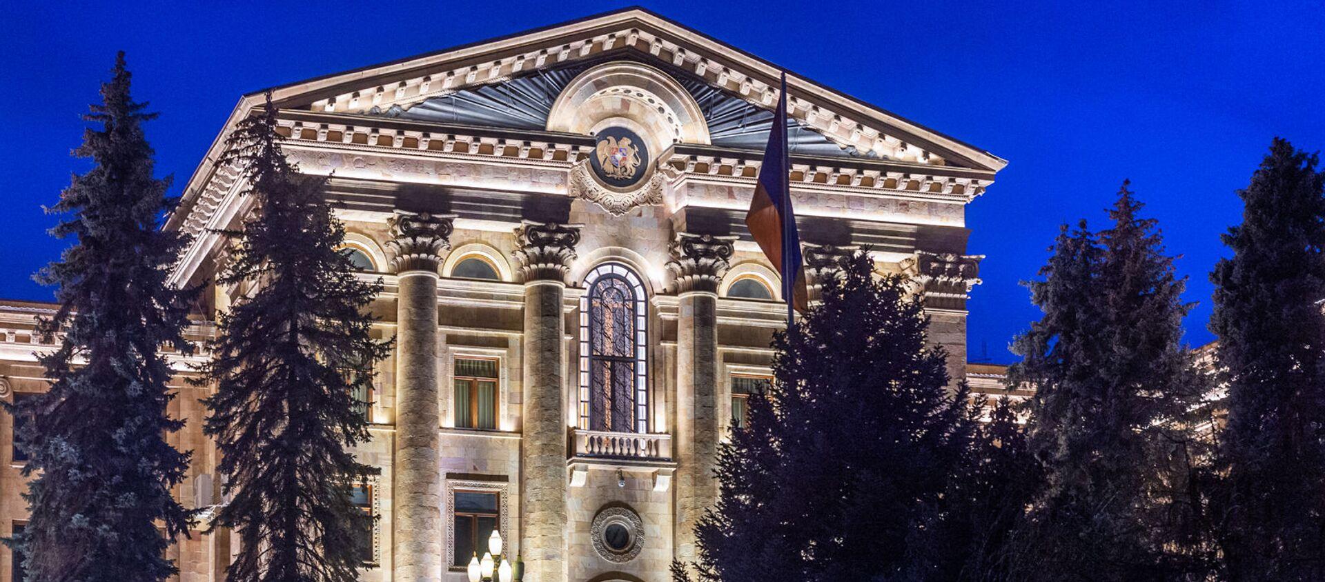Здание Национального Собрания Армении - Sputnik Грузия, 1920, 24.03.2021