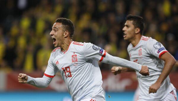 Футбол. Отборочный матч Евро-2020. Матч Швеция - Испания - Sputnik Грузия