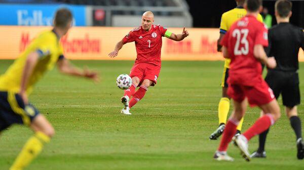 Сборная Грузии и Швеции в первом отборочном матче ЧМ-2022 - Sputnik Грузия