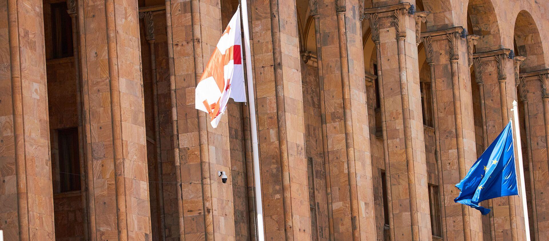 Парламент Грузии - Sputnik Грузия, 1920, 23.05.2021