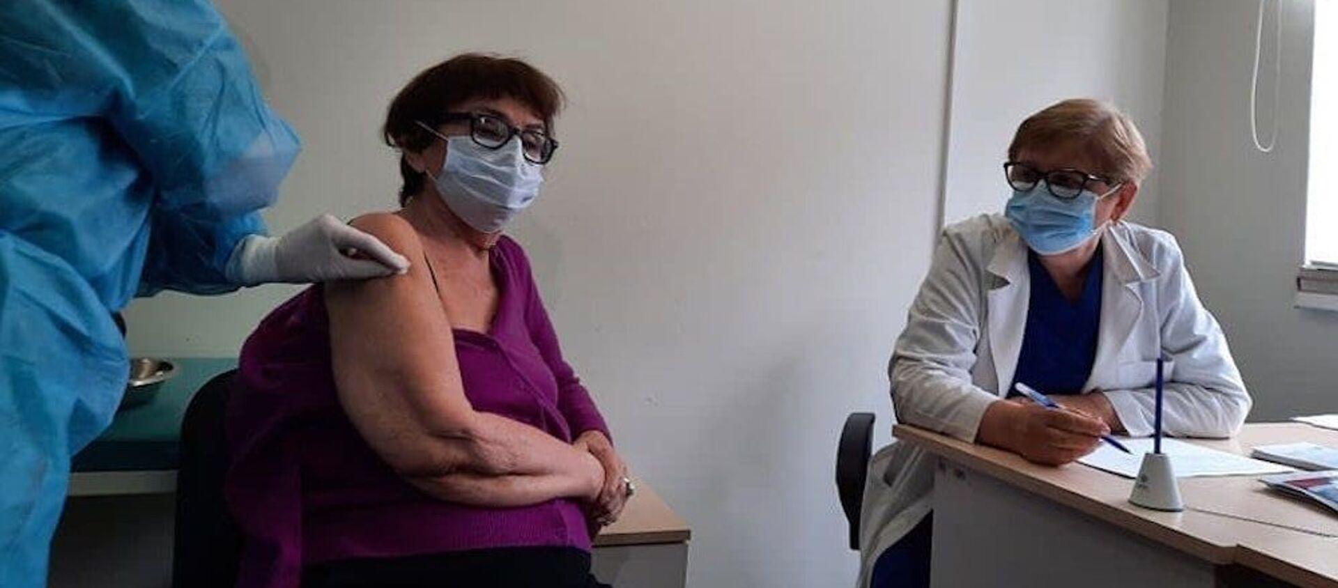 Лана Гогоберидзе сделала прививку от коронавируса - Sputnik Грузия, 1920, 30.03.2021