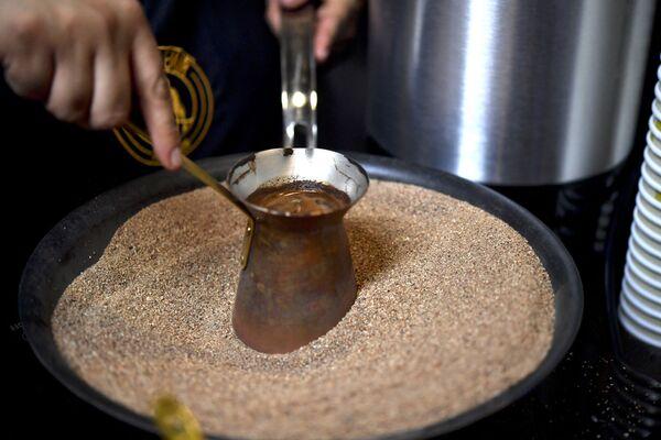 2013 წელს თურქული ყავა ასევე შევიდა იუნესკოს მსოფლიო მემკვიდრეობის ნუსხაში - Sputnik საქართველო
