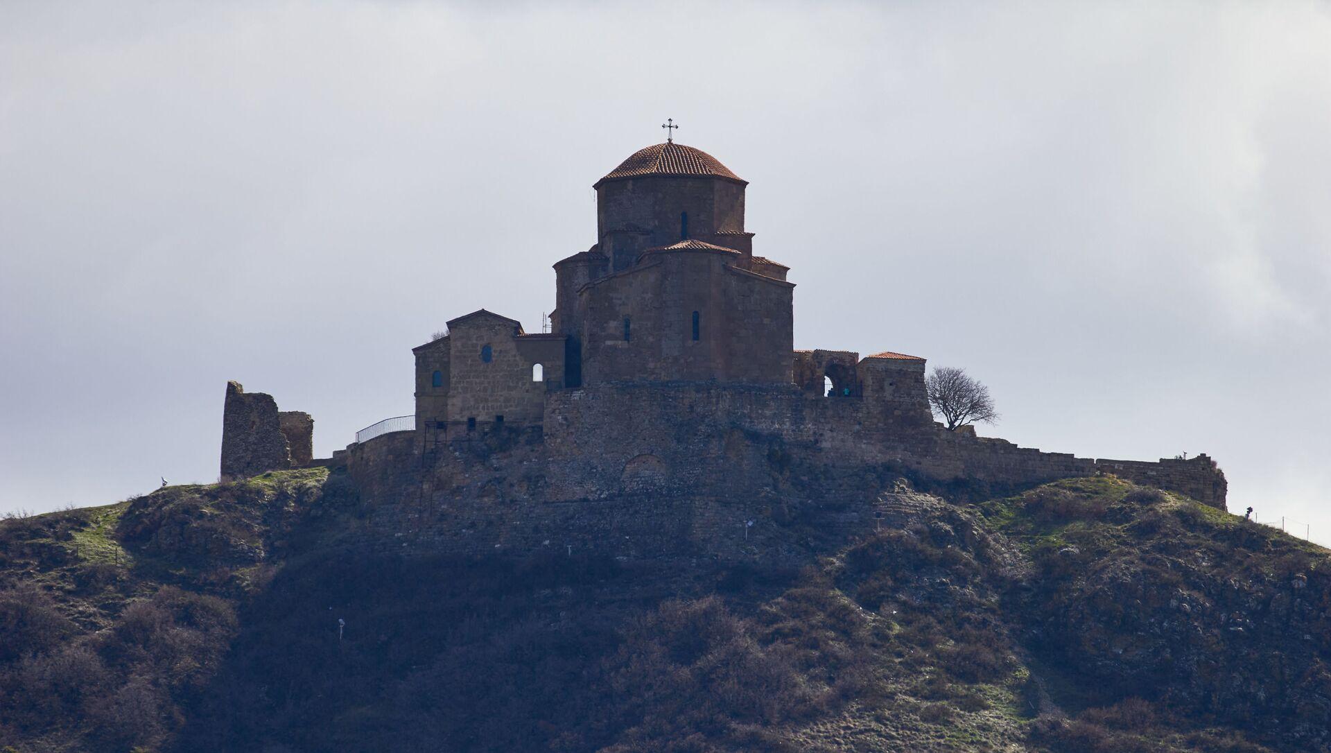Храм Джвари - Sputnik Грузия, 1920, 06.04.2021