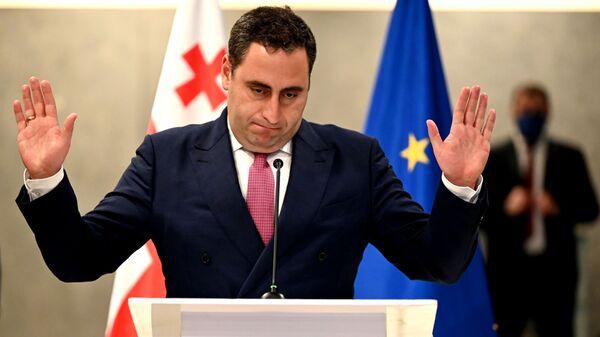 Георгий Вашадзе. Переговоры Грузинской мечты и объединенной оппозиции - Sputnik Грузия