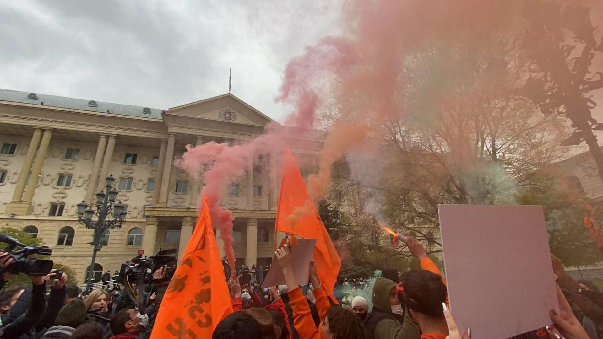 В Тбилгорсуде начался процесс по делу Ники Мелия - Sputnik Грузия, 1920, 13.04.2021