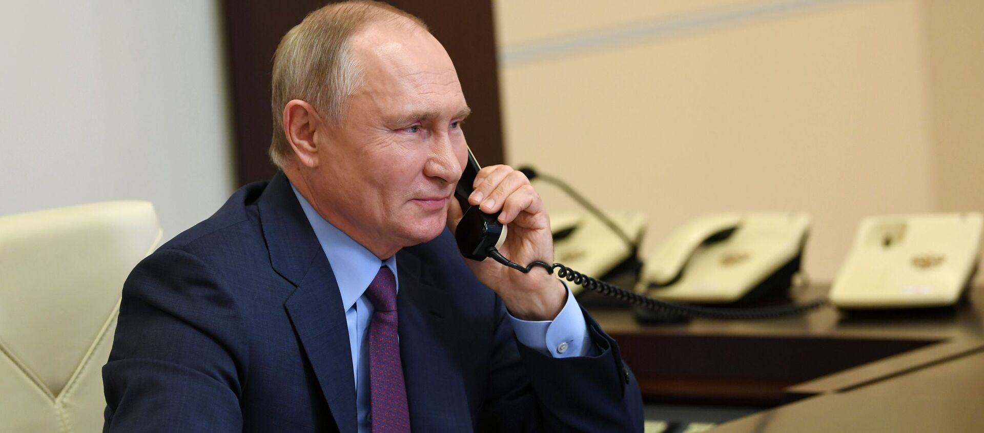 Президент России Владимир Путин, архивное фото - Sputnik Грузия, 1920, 13.04.2021