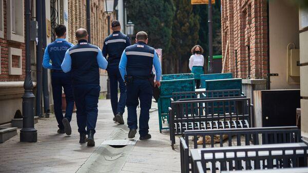 Городская полиция патрулирует центр города, где много туристических объектов - Sputnik საქართველო
