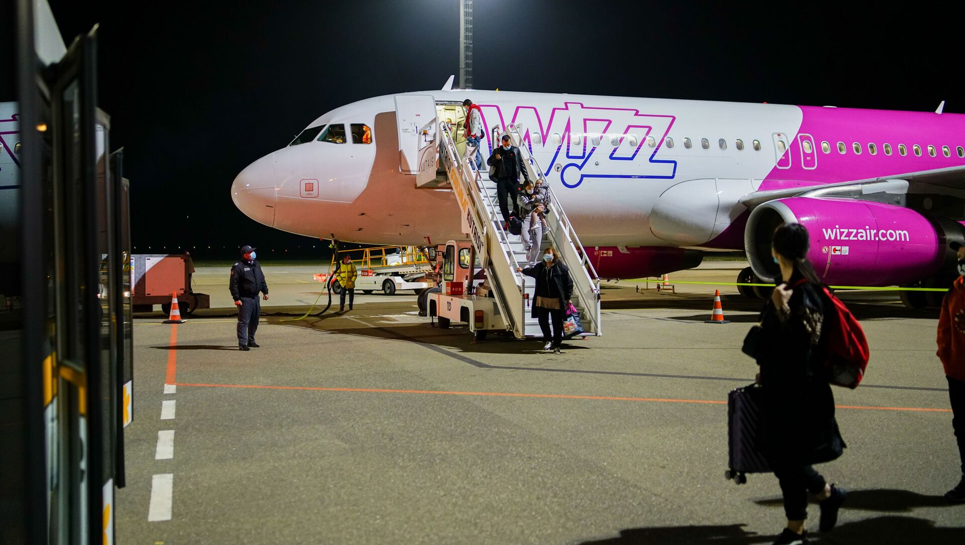 WizzAir-ის თვითმფრინავი - Sputnik საქართველო, 1920, 29.06.2021