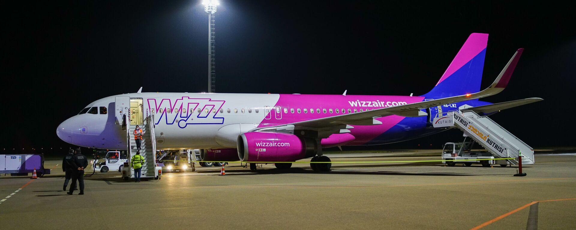 WizzAir–ის თვითმფრინავი - Sputnik საქართველო, 1920, 28.09.2021