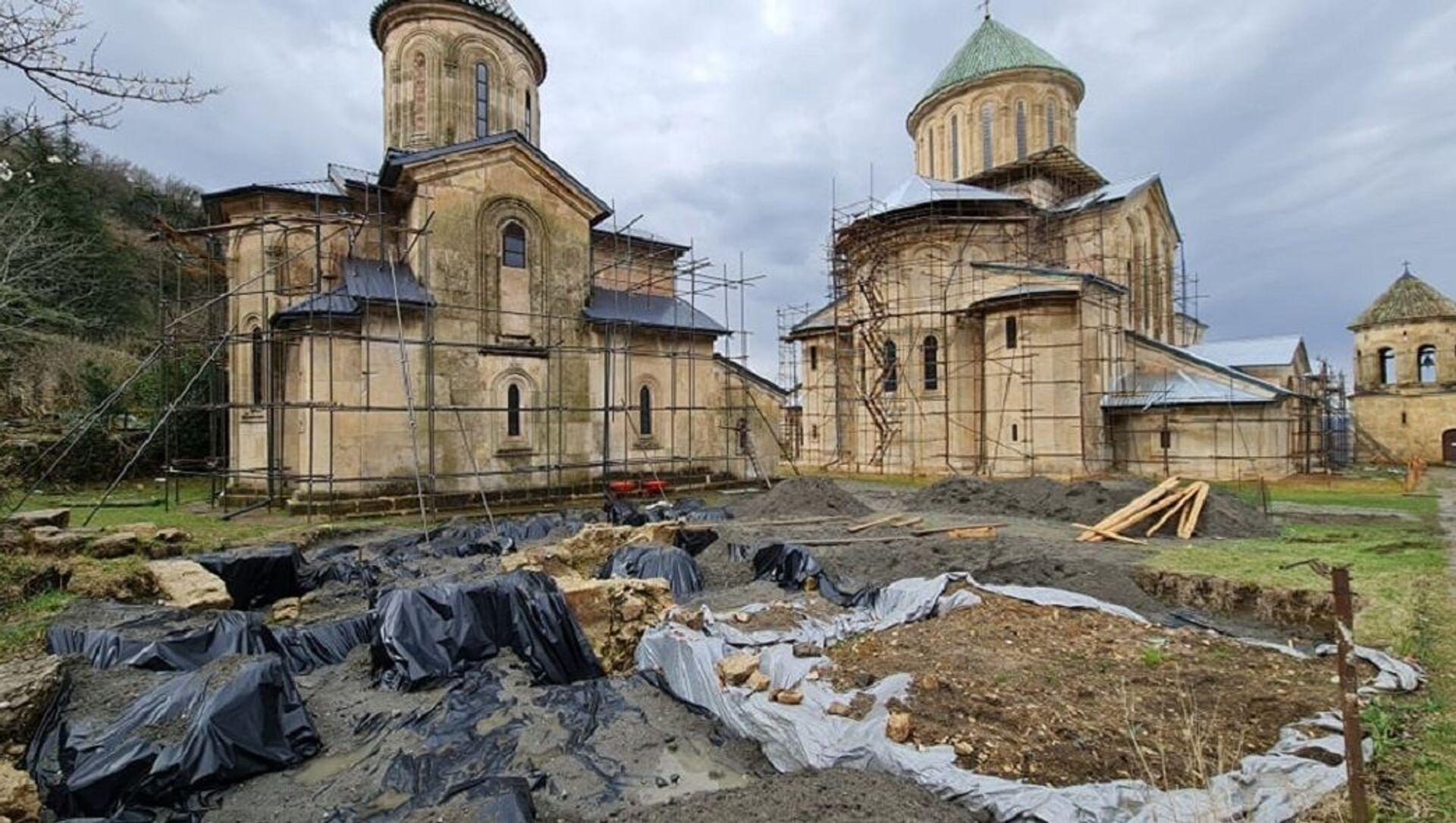Раскопки в Гелати - Sputnik Грузия, 1920, 19.04.2021