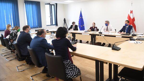Переговоры властей и оппозиции Грузии при посредничестве ЕС - Sputnik Грузия