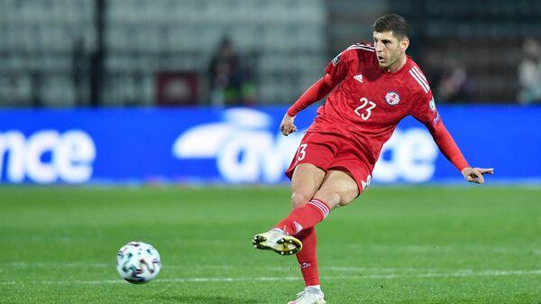Футболист сборной Грузии Лаша Двали - Sputnik Грузия