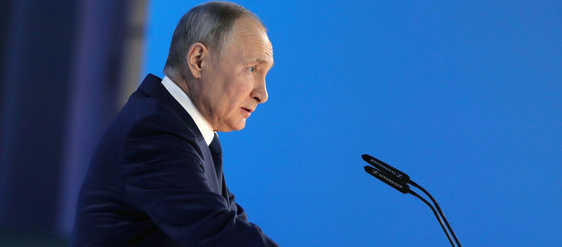 Президент РФ Владимир Путин - Sputnik Грузия, 1920, 21.04.2021