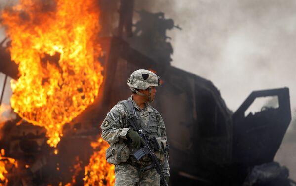 Почти двадцать лет американские войска воевали на территории Афганистана - Sputnik Грузия