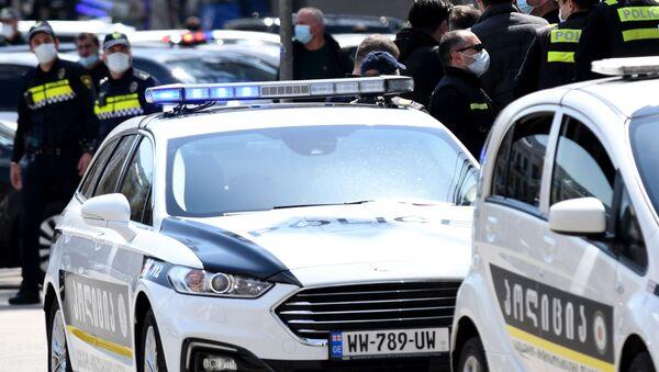 Полицейские на месте преступления. Борьба с преступностью - Sputnik Грузия