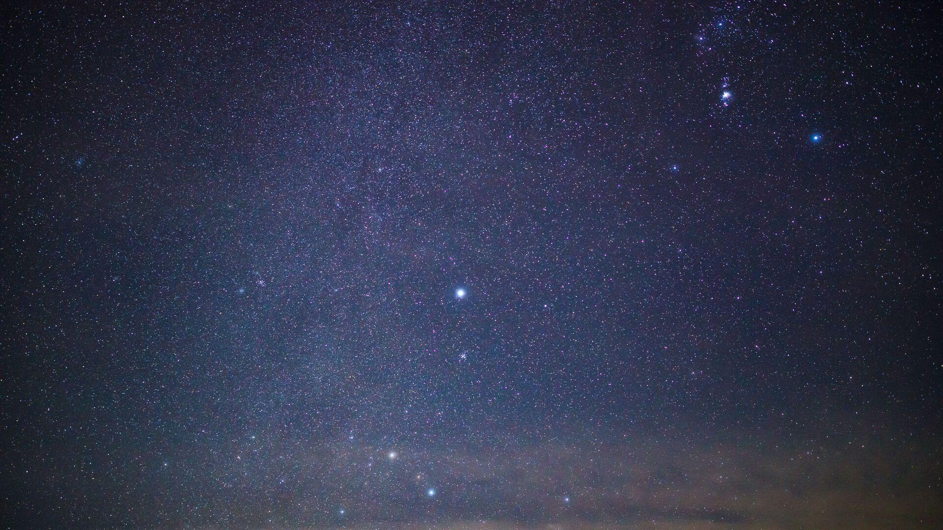 Звездное небо в Кавказском государственном природном биосферном заповеднике в Адыгее - Sputnik Грузия, 1920, 28.06.2021