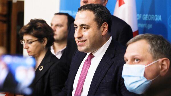 Георгий Вашадзе и лидеры объединенной оппозиции - Sputnik Грузия