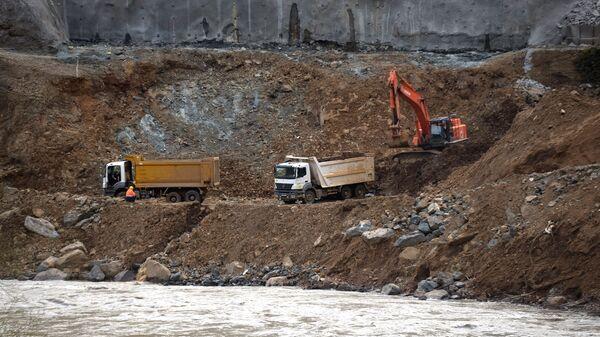 Строительство Намахвани ГЭС - Sputnik Грузия