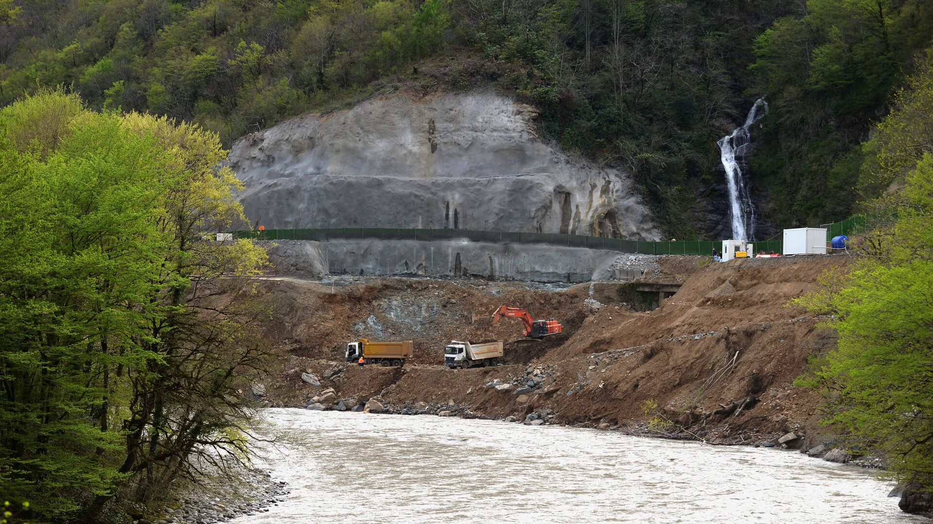 Строительство Намахвани ГЭС - Sputnik Грузия, 1920, 22.09.2021